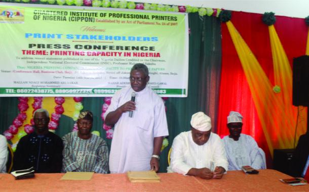 CIPPON: ADDRESSING PRINTING CAPACITY IN NIGERIA